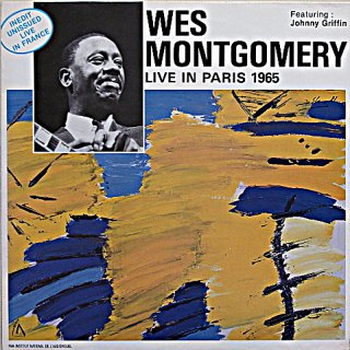 WES MONTGOMERY LIVE IN PARIS 1955 featuring Johnny Griffin Original盤
