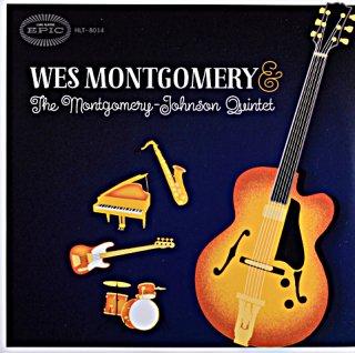 WES MONTGOMERY & THE MONTGOMERY - JOHNSON QUINTET US盤 10inch