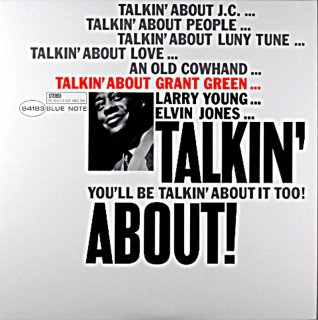 TALKIN' ABUT GRANT GREEN (45回転盤)2枚組 US盤