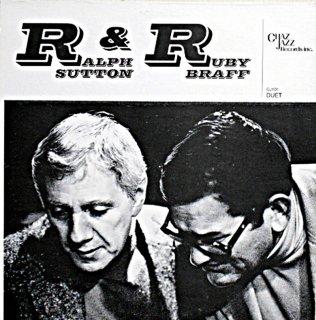 RALPH SUTTON & RUBY BRAFF US盤