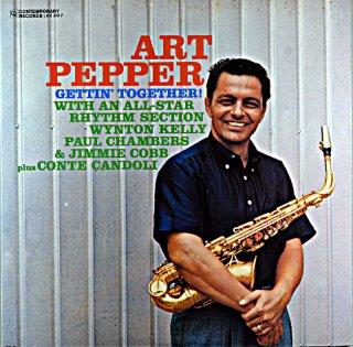 ART PEPPER GETTING ' TOGETHER !