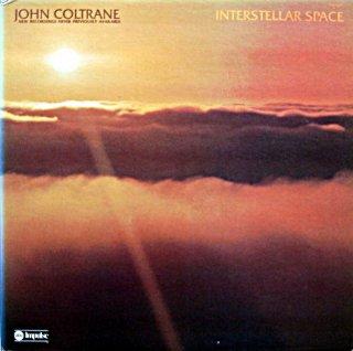 JOHN COLTRANE INTERSTELLAR SPACE US盤