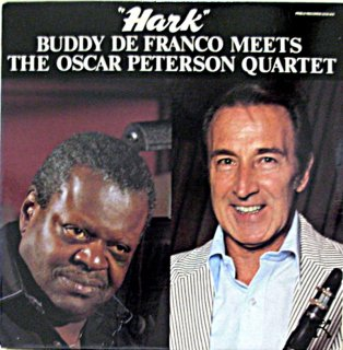 HANK / BUDDY DE FRANCO MEETS THE OSCAR PETERSON QUARTET US盤