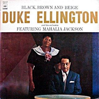 DUKE ELLINGTON BLACK BROWN AND BEIGE