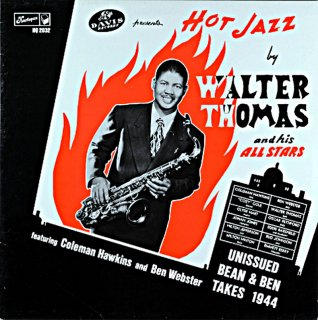 HOT JAZZ BY WALTER THOMAS AND HIS ALL STARS UK盤