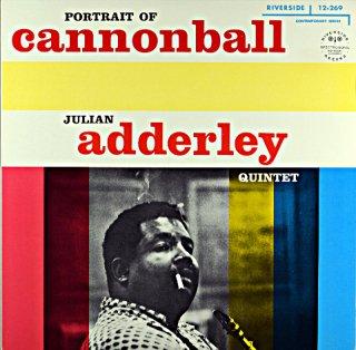 PORTRAIT OF CANNONBALL JULIAN ADDERLEY (OJC盤)