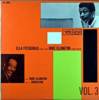 ELLA FITZGERALD SINGS THE DUKE ELLINGTON SONG BOOK VOL.3