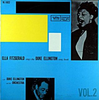 ELLA FITZGERALD SONGS THE DUKE ELLINGTON SONG BOOK VOL.2