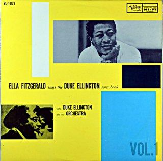 ELLA FITZGERALD SINGS THE DUKE ELLINGTON SONG BOOK VOL.1