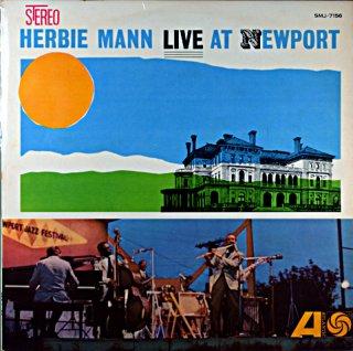 HERBIE MANN LIVE AT NEWPORT