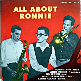 RONNIE BALL ALL ABOUT RONNIE Original盤