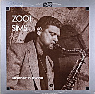 ZOOT SIMS BROTHER SWING French盤