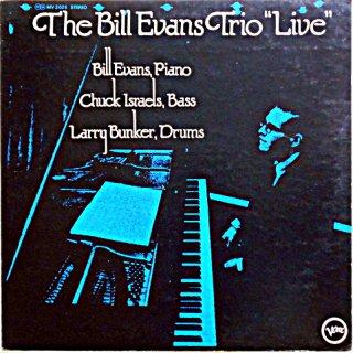 "THE BILL EVANS TRIO ""LIVE"""