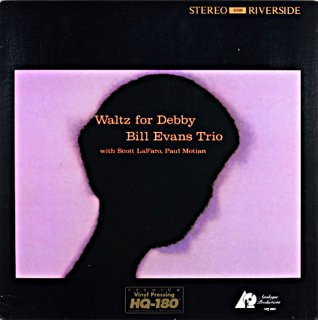 BILL EVANS WALTZ FOR DEBBY Analogue Prodoction US盤