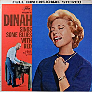 DINAH SHORE SING SOME BLUES WITH RED Original盤