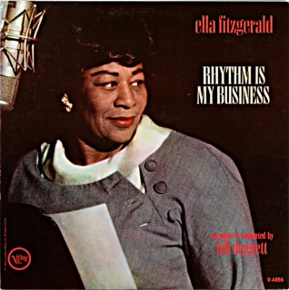 ELLA FITZGERALD RHYTHM IS MY BUSINESS US盤