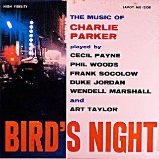 PHIL WOODS BIRD'S NIGHT