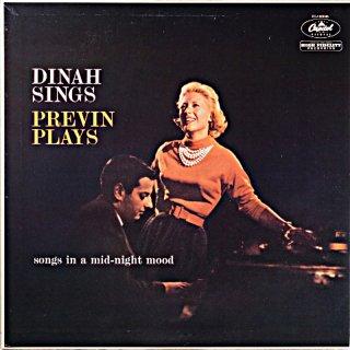 DINAH SINGS PREVIN PLAYS DINAH SHORE