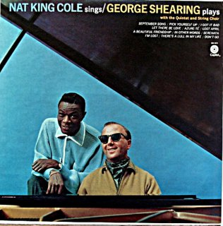 NAT KING COLE SINGS GEORGE SHEARING PLAYS US盤