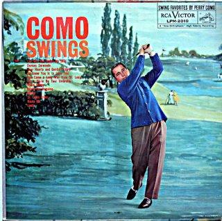 PERRY COMO SWINGS Original盤