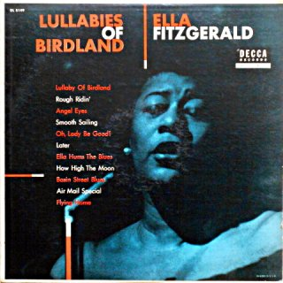 ELLA FIZGERALD LULLABIES OF BIRDLAND US盤