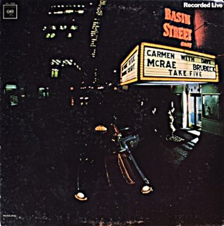 CARMEN McRAE TAKE FIVE -DAVE BRUBECK Original盤