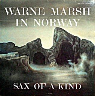 SAX OF A KIND WARNE MARSH IN NORWAY Norway盤
