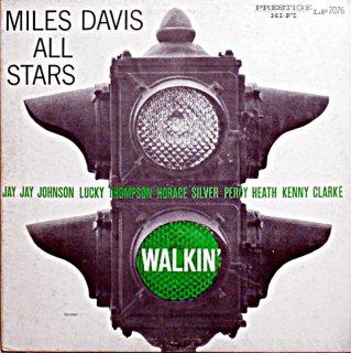 MILES DAVIS WALKIN' SEXTET & QUINTET Us盤