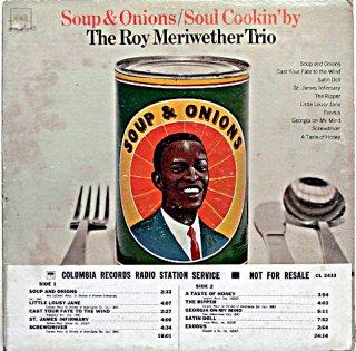 ROY MERIWETHER SOUP & ONIONS Original盤