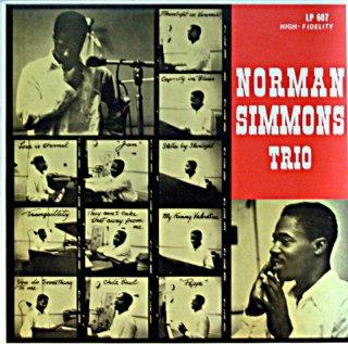 NORMAN SIMMONS TRIO