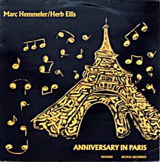MARC HEMMELER HERB ELLIS-ANNIVERSARY IN PARIS France盤
