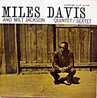 MILES DAVIS AND MILT JACKSON QUINTET/SEXTET (OJC盤)