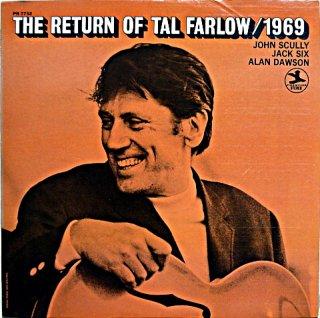 THE RETURN OF TAL FARLOW / 1969 Us盤