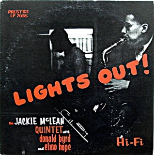 JACKIE McLEAN LIGHTS OUT !