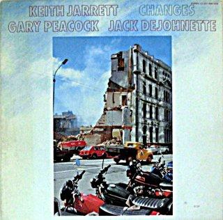 KEITH JARRETT CHNGES German盤