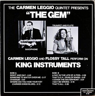 CARMEN LEGGIO / THE GEM US盤