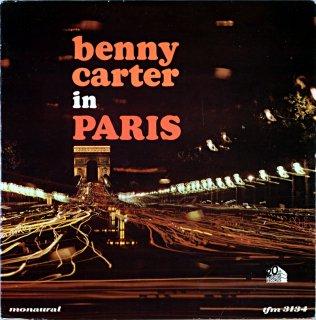 BENNY CARTER IN PARIS Original盤