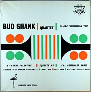 BUD SHANK QUARTET - CLAUDE WILLIAMSON Uk盤