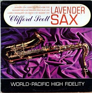 CLIFFORD SCOTT / LAVENDER SAX Us盤