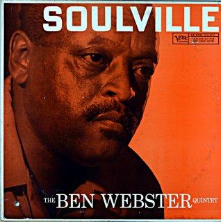 SOULVILLE THE BEN WEBSTER QUINTET Us盤