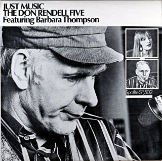 JUST MUSIC THE DON RENDELL FIVE Uk盤