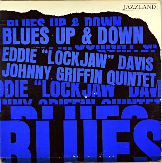 EDDIE 'LOCKJAW' DAVIS  BLUES UP AND DAWN Original盤