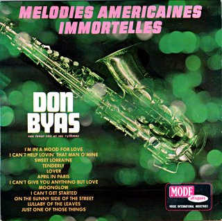DON BYAS MELODIES AMERICAINES IMMORTELLES French盤