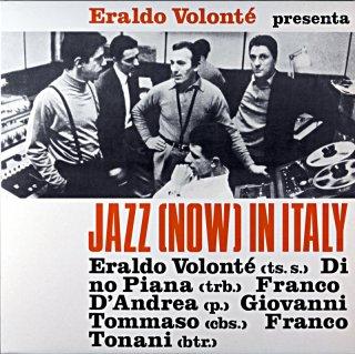 JAZZ NOW IN ITALY ERALDO VOLONTE Itarian盤