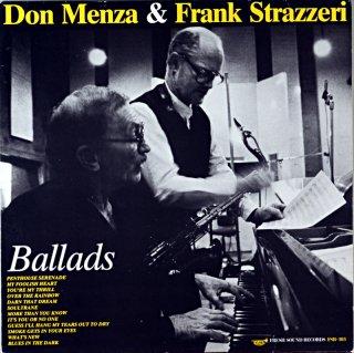 DON MENZA & FRANK STRAZZERI BALLADS Original盤