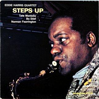 EDDIE HARRIS QUARTET STEPS UP Us盤