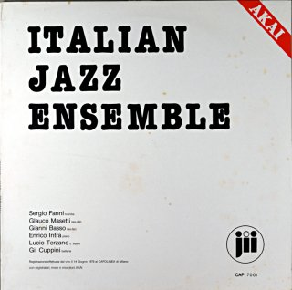 GIANNI BASSO ITALIAN JAZZ ENSEMBLE Itarian盤