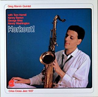 GREG MARVIN QUINTET WORKOUT ! Holland盤