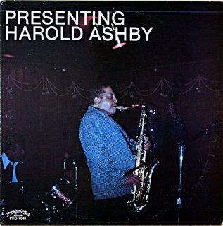 PRESENTING HAROLD ASHBY Us盤