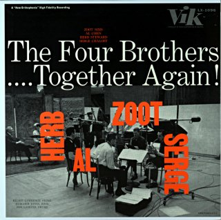 ZOOT SIMS THE FOUR BROTHERS TOGETHER AGAIN